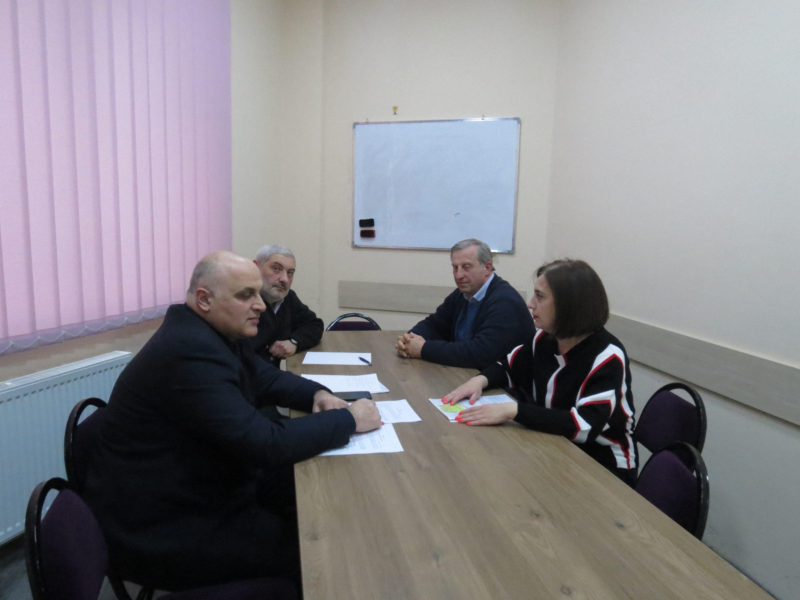 """მემორანდუმი ურთიერთთანამშრომლობის შესახებ""""ქართულ-ევროპული განათლების აკადემიასთან"""""""